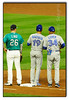 Bautista on First (seagr112) Tags: safecofield seattle washington baseball game baseballgame seattlemariners torontobluejays firstbase josebautista sonya77 sony70400mmg adamlind timleiper firstbasecoach