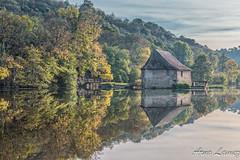boel (arnolamez) Tags: bretagne britanny automne paysage nature illeetvilaine boel reflet eau autumn
