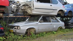 Renault 11 GTX 1984 (XBXG) Tags: ls78dn renault 11 gtx 1984 renault11 r11 ronze onze gaos emmeloord nederland holland netherlands paysbas autosloperij autosloop sloperij scrapyard scrap yard junkyard casse sloop rust rusty roest roestig rouille rouill corrosion old classic french car auto automobile voiture ancienne franaise france frankrijk