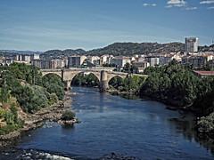 Ponte vella, Ourense (Miguelanxo57) Tags: puente bridge romano roman medieval riomio ourense galicia