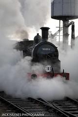 Steamy M7 (Jack Haynes Photography) Tags: swanage railway autumn steam gala 2016 dorset purbeck locomotive heritage m7 30053