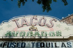 Tacos & Avocados (dangr.dave) Tags: roanoke tx texas dowtown historic architecture oakstreet neon neonsign tacos avocados tequila
