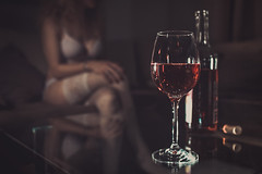 other Flickr  just for save (ad_dward) Tags: glass wine glas wein lingerie nylons boudoir dessous erotic lady legs sensual sheer stayups stilllife stillleben stockings strmpfe bottle flasche
