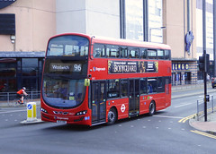 SLN 13027 - BG14ONW - BEXLEYHEATH SHOPPING CENTRE - FRI 9TH SEPT 2016 (Bexleybus) Tags: bexleyheath shopping centre kent stagecoach london wrightbus gemini volvo hybrid tfl route 96 13027 bg14onw