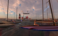 FJ2016 @ NYC - RDs above the fleet (vivipezz) Tags: secondlife sailing sl nyc nantucket shields q2m bandit if