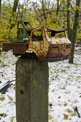 Chernobyl Exclusion Zoner - Ukraine (hondza) Tags: ukrajina chernobyl černobyl exclusionzoner pripjat ukraineukrajina