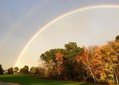 Bonnie's rainbow... (DjD-567) Tags: colors autumn 06082 funeral spectrum enfield rainbow inmemoryof abberd apple iphone 5s