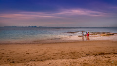 Family on a beach. (Dragunars..) Tags: beach family dragunars sand