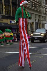 Stilts (swong95765) Tags: parade stilts man costume street walking entertaining stripes