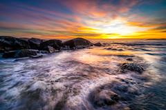 This magical coast (Richard Larssen) Tags: richardlarssen richard rogaland larssen landscape light norway norge norwegen nature sony sea scandinavia seascape sky sunset sel1635z sun water rocks a7ii waves jæren hå colors alpha beach ogna