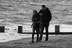 seaside stroll (byronv2) Tags: edinburgh edimbourg portobello sea seaside shore beach scotland northsea coast coastal rnbforth firthofforth firth forth river riverforth street candid peoplewatching blackandwhite blackwhite bw monochrome
