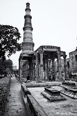 Qutub Minar (Pandster1981) Tags: a77 delhi honeymoon india qutubminar sigma1020mmf35exdchsm sonya77