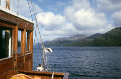 On board 'Countess Fiona' , Tarbet-Inversnaid. Sep'84. (David Christie 14) Tags: countessfiona lochlomond