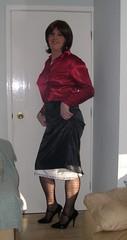 Peeking slip 2009 2010 (20) (janegeetgirl2) Tags: transvestite crossdresser crossdressing tgirl tv ts stockings heels garters nylons glamour stilettos fully fashioned high vintage seams peeking slips petticoat suspenders jane gee