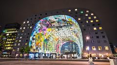 Rotterdam - Markthal (ジェイリー) Tags: markethall rotterdam markthal 荷蘭 南荷蘭 southholland night 鹿特丹