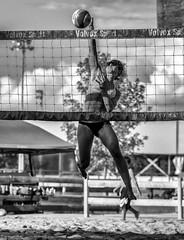 The Kill (Beach Volleyball.) Tags: sport sports action photo photography jolibeach joliette quebec canada tournament athlete women girl spike kill summer canon 7d dannyboy ef70200mmf28lisiiusm