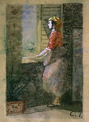Woman at a Window (In Caracas?) (lluisribesmateu1969) Tags: 19thcentury pissarro notonview philadelphiamuseumofart philadelphia