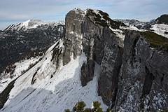 The walls of Greimuth (Vid Pogacnik) Tags: austria alps totesgebirge hiking landscape loser panorama outdoor mountain arete ridge mountainridge rock crag cliff mountainside