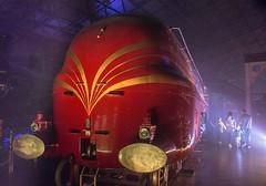 Illuminating York 2016 at the National Railway Museum - 9 (nican45) Tags: 1770 1770mm 1770mmf284dcmacro 2016 28october2016 28102016 canon dslr duchessofhamilton eos70d illuminatingyork nrm nationalrailwaymuseum october slr sigma york yorkshire engine light locomotive streamlined