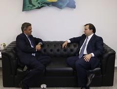 Aécio Neves - Encontro com o presidente da Câmara dos Deputados - 16/11/2016