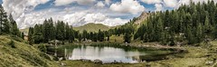 Lagusel (Simone Vanelli) Tags: montagna vacanza val fassa mountain dolomiten trentino italia italy alpi alpes sky cielo clouds nuvole lago lake alpino