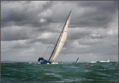 Round the Island C62 (rogermccallum) Tags: sail sailing roundtheisland solent boat boating sea tack tacking