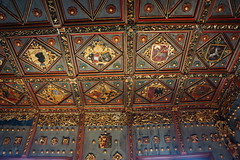 Fortress Chambers, Salzburg AT (Boston Runner) Tags: fortress hohensalzburg fortification salzburg austria 2016 medieval prince chamber apartment golden room bedchamber ceiling detail