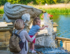Holding On (keithhull) Tags: candid child parent hevercastle kent water