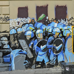 Bologna (Claudia Celli Simi) Tags: bologna italia centro piazzaverdi viazamboni zonauniversitaria murales graffito streetart muralart arteurbana urbanart