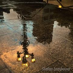 Santos cityhall (Stefan Lambauer) Tags: santos prefeitura santoscityhall reflexo água chuva luminária sky water feflection colors stefanlambauer brasil brazil sãopaulo br