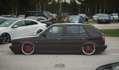 WSEE RELOADED 2016 (JAYJOE.MEDIA) Tags: vw golf mk2 gti volkswagen low lower lowered lowlife stance stanced bagged airride static slammed wheelwhore fitment