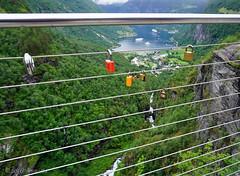 HFF ( Annieta ) Tags: annieta juli 2016 sony a6000 holiday vakantie vacances noorwegen norway norvge geiranger view fence hek hff allrightsreserved usingthispicturewithoutpermissionisillegal