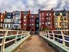 Boston Brownstones ((Jessica)) Tags: boston bostonskyline massachusetts newengland buildings brownstones cityscape skyline architecture colorful bridge vanishingpoint leadinglines