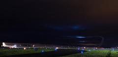 G-BYHG Dorneir Do.28, Dundee (wwshack) Tags: dnd dundee egpn night riverside scotland taysideaviation gbyhg longexposure