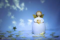 Advent (Explore #57) (rafischatz... www.rafischatz-photography.de) Tags: angel figure christmas advent season star reflection pentax k3