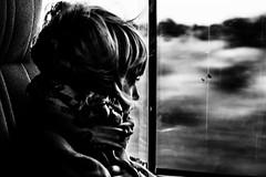 . (__cpk__) Tags: africa bw baby window car childhood movement nikon alone wind soul dreams savannah panning d700