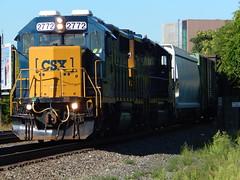 CSX GP38-2 #2772 (Trackside Gorilla) Tags: kingstonnewyork gp382 csxriverline