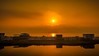 Golden Hour - Peaceful Place (George Nutulescu) Tags: sunset sea summer sky sun seascape sunrise season nikon nikond40 sailsevenseas outstandingromanianphotographers