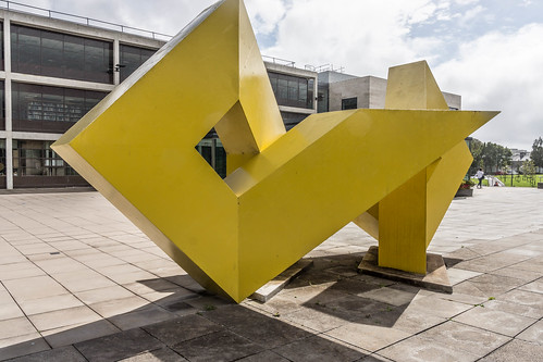 A VISIT TO GALWAY UNIVERSITY CAMPUS [GALWAY YELLOW BY BRIAN KING] REF-107221