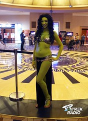 Orion Slavegirl (TrekRadio) Tags: startrek costume cosplay orion riohotel slavegirl startreklasvegas stlv trekradio stlv2015