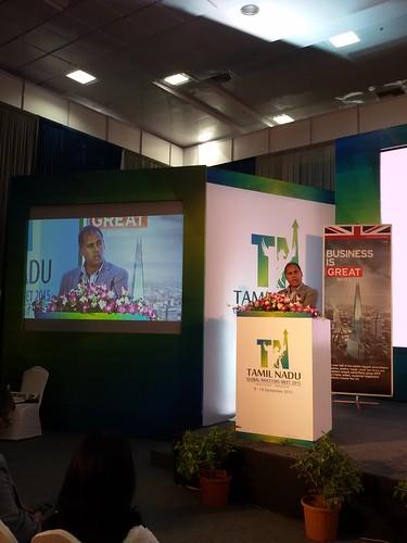 Global Investors Meet 2015 in Chennai, 9 September 2015