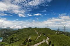 Soureni Tea Estate (bhodaporel) Tags: travel sky india green clouds garden tea hill verdant paths roads mirik soureni