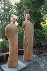 Tofino Botanical Garden (alh1) Tags: sculpture canada vancouverisland tofino carvings redcedar tofinobotanicalgarden