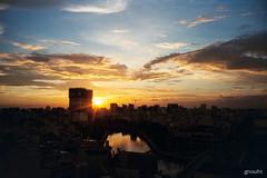 [Lomo] sunset