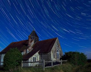 Idsworth Star Trails