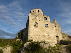 Citadel Počitelj, Bosnia (ashabot) Tags: travel bosnia medieval blueskies balkans fortress middleages bosniaherzegovina 13thcentury historicalsites počitelj medievalruins medievalcities
