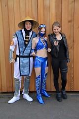 Mortal Kombat Cosplay (masimage) Tags: mortalkombat raiden kitana sonyablade sonjablade stokecontrentoctober2015
