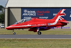 XX319 (David Unsworth (davidu)) Tags: aircraft aviation military air jet airshow redarrows raf ffd fairford redarrow royalairforce davidunsworth xx319 hawkersiddeleyhawkt1a daviduair