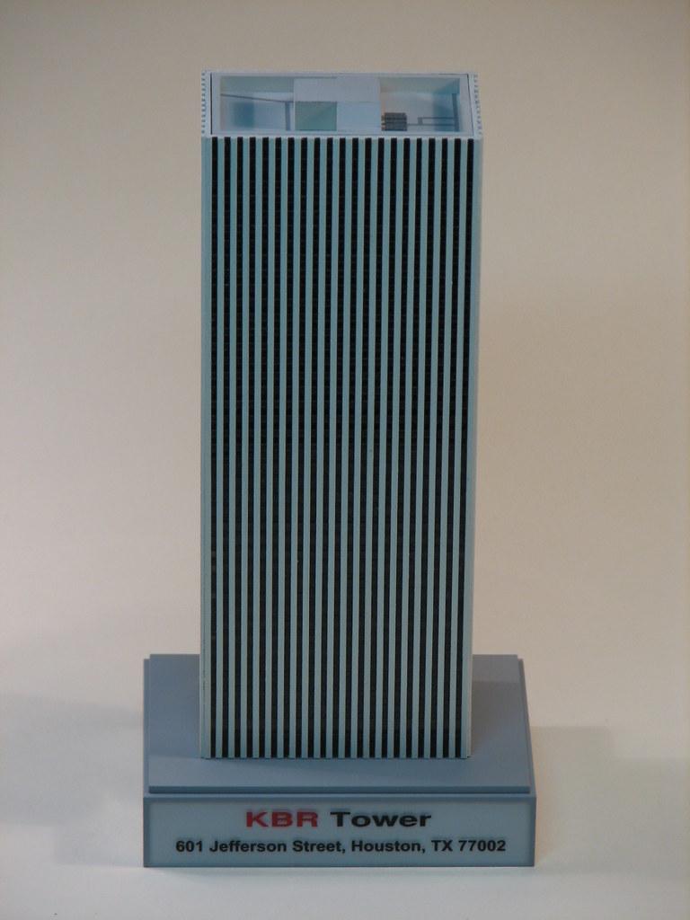 601 jefferson street houston tx 77002 - Kbr Tower Houston Tx Russian Sam Tags Building Tower Scale Model