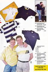 Tottenham Hotspur Spring Catalogue 1989 - Page 3 (The Sky Strikers) Tags: chris shirt club paul spurs pals best fabric merch polo gazza tottenham waddle hotspur crinkle gascoigne sportshirts